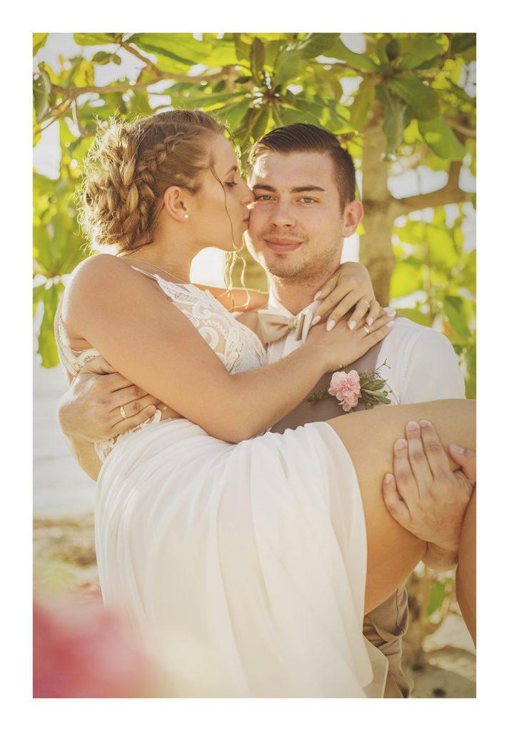 ślub, wesele, fotografia ślubna, sesja plenerowa, sesja na Karaibach, Dominikana, Karaiby