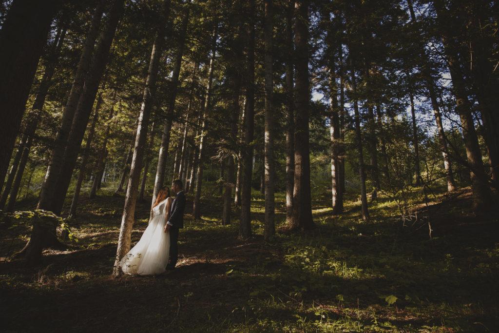 Sesja w lesie Limanowa