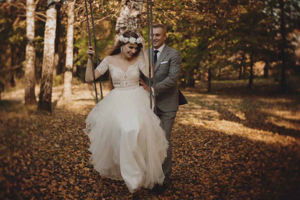 sesja ślubna, dworek w woli sękowej, studiomandala