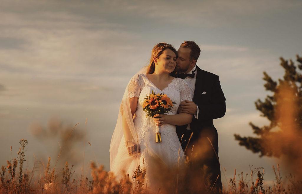 sesja plenerowa w Beskidzie Niskim, słoneczniki na ślub, StudioMandala